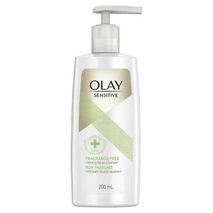 OLAY SENSITIVE Fragrance Free CALMING LIQUID CLEANSER For Stressed Skin 200 mL