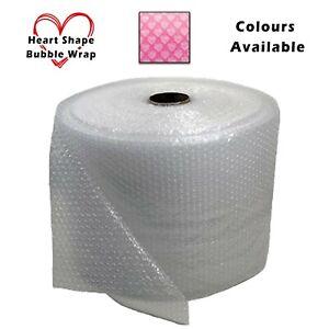 "3/16"" Heart Shape Small Bubble Cushioning Wrap Padding Roll 12"" - High Quality"