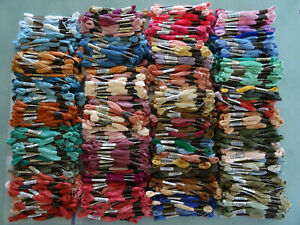 10 x ANCHOR CROSS STITCH THREADS FLOSS SKEINS - 72p each PYO colours