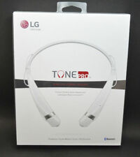 NEW LG Electronics HBS-760 Tone Pro Bluetooth Headset White Bluetooth Enabled