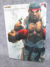 SUPER STREET FIGHTER IV 4 Official Complete Works Art Book CP22*