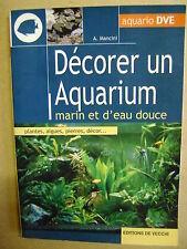 Décorer un aquarium marin et d'eau douce plantes algues pierres décor /J6