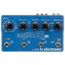 TC Electronic Flashback x4 Delay & Looper Guitar Pedal