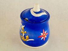 Vintage Geo Z Lefton 1998 Nautical Marine Sea Theme Coffee Tea Sugar Bowl & Lid