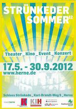 AK Ruhrgebiet Herne Schloß Strünkede Sommer 2012 Open Air Kino