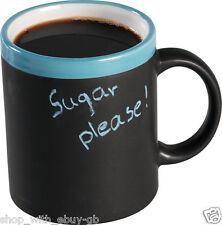 4 x Coffee Mug With Chalk Tea Set Drink Latte Cups Ceramic Kitchen Espresso Mug