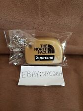Supreme x The North Face Floating Keychain Gold SS20 TNF Box Logo Foam Key Chain