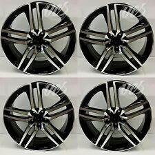 HONDA ACCORD COUPE V6 fits 20 inch Black Machined Rims Set of 4 Wheels