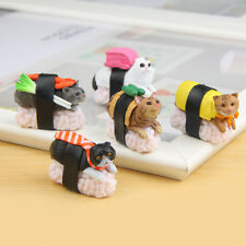 Cute Sushi Neko Cat Club Capsule Meow Mini Figure Kitty Collection 5 Pcs/Set