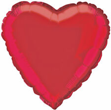 """18"""" Red Heart Foil Helium Balloon Engagement Valentine Day Party Decorations"""