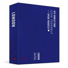 BTS WORLD TOUR LOVE YOURSELF SPEAK LONDON DVD 2Disc+152p P.Book+F.Poster+B.Mark