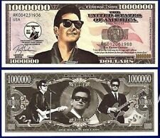 ROY ORBISON One Million Dollar Bill Note $1000000 BUY 2 GET 1 FREE