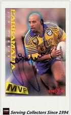 1996 Dynamic Rugby League Series 2 MVP Autographed Card --JIM DYMOCK