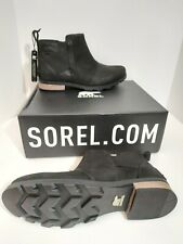 SOREL - Women's Emelie Chelsea Ankle Boots Size 11 Cattail BRAND NEW