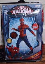 NWT Pottery Barn Kids Light Up Spiderman costume 10-12 years Halloween large L