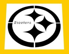 """New listing LARGE 12"""" x 12""""  NFL * PITTSBURGH STEELERS STENCIL *FREE USA S&H / +FREE STENCIL"""