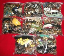 Vintage Huge Lot Costume Jewelry 18 1/2 LBS Necklaces, Bracelets, rings, & more