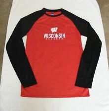 Ncaa Wisconsin Badgers Youth Long Sleeve Polyester Shirt - Size Small