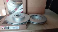 2  BREMSSCHEIBEN BESCHICHTET VORNE JEEP GRAND CHEROKEE /COMANDER 05-10 328mm
