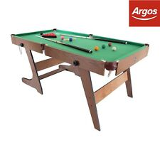Hy-Pro 5ft Folding Snooker and Pool Table.