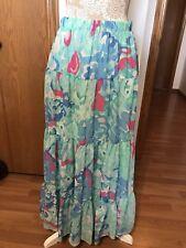 Brand New Peter Nygard Women Tiered Maxi Skirt, Size 10. Retail $79