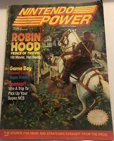 Nintendo Power Magazine Issue #26 July 1991 Robin Hood W/Metroid 2  Poster