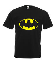 Batman T Shirt Top Tee Super Hero Superhero Classic Comic Gift Colour Quality