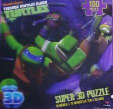 "Nickelodeon ""Teenage Mutant Ninja Turtles Super 3D 150 Piece 18"" x 12"" Puzzle"