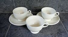 Wedgwood of Etruria & Barlaston 3 Tea Coffee Cups and 2 saucers