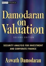 Damodaran On Valuation - Security Analysis 2nd Int'l Edition
