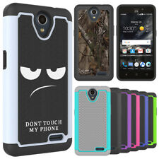 For ZTE Maven 3 / Overture 3 Case Hard Silicone Hybrid Shockproof Phone Cover