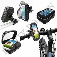 360 Degree Universal Bicycle Bike Waterproof Case Mount Holder For Mobile Phone
