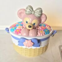 "TDS Japan Tokyo Disney Sea Shelliemay Flower Bucket 3.5"" Souvenir Case Ornament"