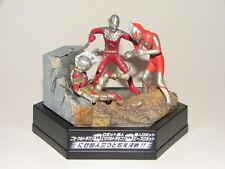 Nise Ultraman vs Ultraseven Robot vs Ace Robot Figure Diorama from Ultraman Set!