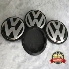 4 PCS 65mm Wheel Center Hub Caps Cover Badge Emblem for Volkswagen VW new