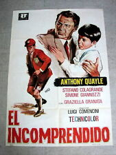 MISUNDERSTOOD Original Movie Poster ANTHONY QUALE LUIGI COMENCINI GIORGIA MOLL
