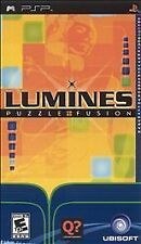 Lumines 1 PUZZLE FUSION UMD PSP GAME SONY PLAYSTATION PORTABLE I PUZZLEFUSION