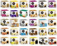 NESCAFE DOLCE GUSTO COFFEE CAPSULES PODS FULL RANGE OVER 30 FLAVOURS 8-16 P/PACK