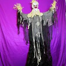 """72"""" KILLER SCARECROW CLOWN~Poseable Arms~Halloween Hanging Decoration~NEW"""