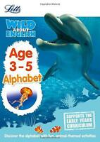 English  Alphabet Age 3-5 (Letts Wild About) by Letts Preschool | Paperback Book
