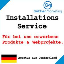 ★ Installations-Service für bei uns gekaufte Produkte oder Webprojekte ★