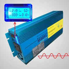 3000w Max pure sine wave power inverter caravan van converter DC 12v to AC 230v