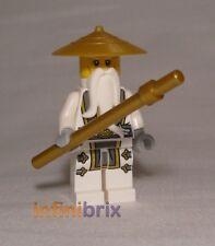 Lego Master Wu from set 70734, 70738 + 71234 Ninjago Minifigure BRAND NEW njo142