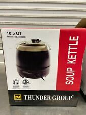 Soup Kettle 105 Qt Electric Chili Cheese Warmer Thunder Group Sej35000c 6185