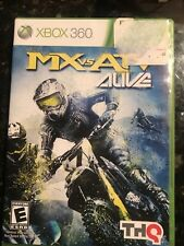 MX vs. ATV Alive (Microsoft Xbox 360, 2011) CIB Complete Tested