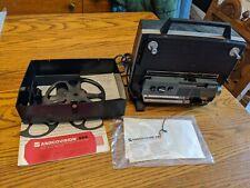GAF Anscovision 688 Zoom Lens Slow Motion Projector-Dual 8mm Super Vtg film rare