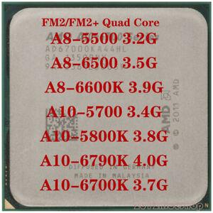 AMD A8-5500 A8-6500 A8-6600K A10-5700 A10-5800K A10-6790K A10-6700K CPU
