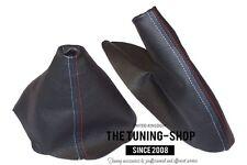 For BMW Series 1 E81 E82 E87 E88 07-13 Gear Handbrake Gaiter Leather M/// Stitch