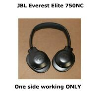JBL Everest Elite 750NC Wireless Headphones Silver For Parts / Not Working READ!