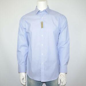 NWT J CREW Ludlow Classic Fit Stretch Cotton Blue Dress Shirt Sz 16 - 34
